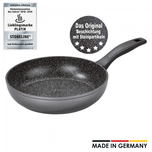 STONELINE® Sauteuse 24 cm, Made in Germany