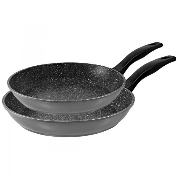 STONELINE® Pan set, set of 2, 20/28 cm