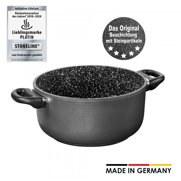 STONELINE®Cooking pot 24 cm, Made in Germany
