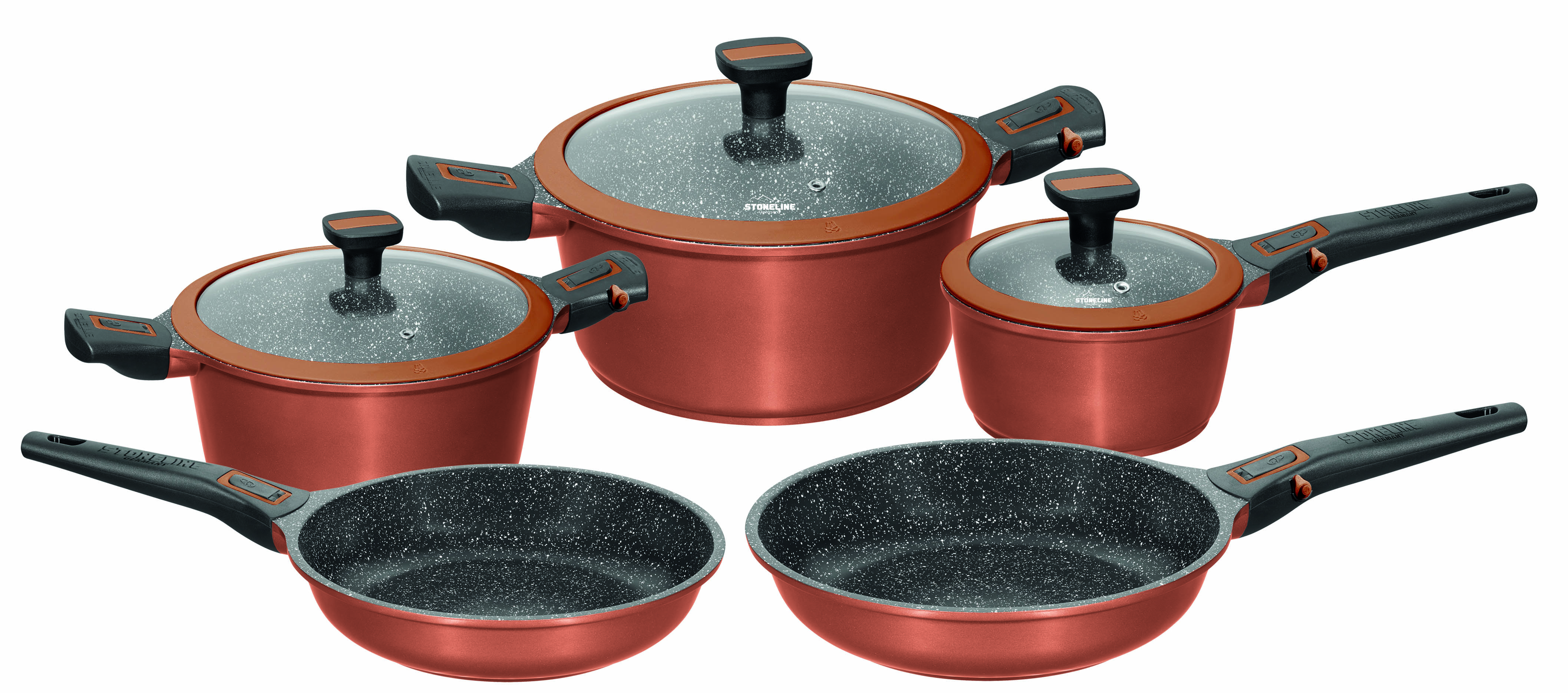 Stoneline 174 Imagination Plus Cookware Set Set Of 8 With