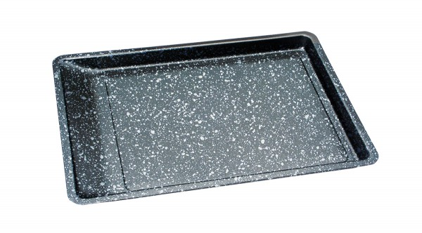 STONELINE® Easy-pour baking sheet, 42 x 29 cm, with prism effect
