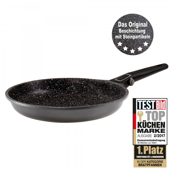 STONELINE® Imagination PLUS Frying pan 28 cm, with removable handle