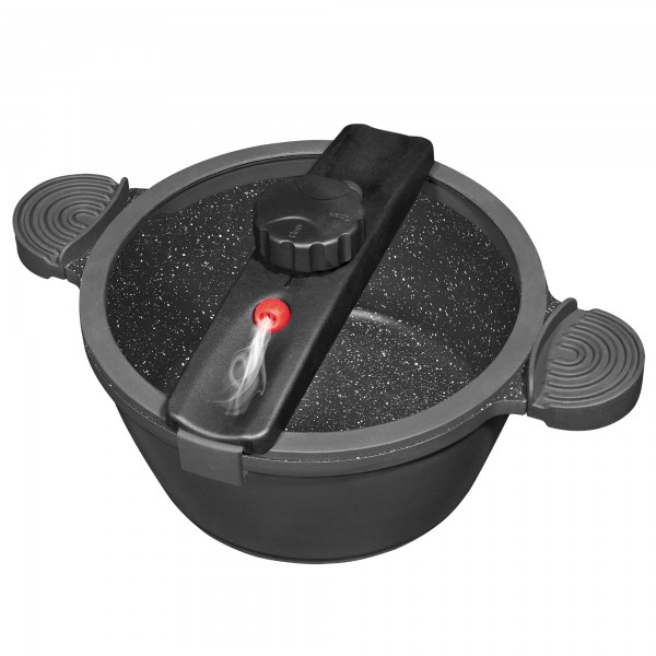 STONELINE steam and energy-saving pot due to low pressure function
