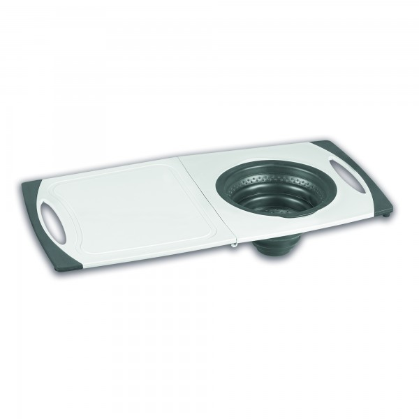 STONELINE® Folding cutting board with silicone sieve