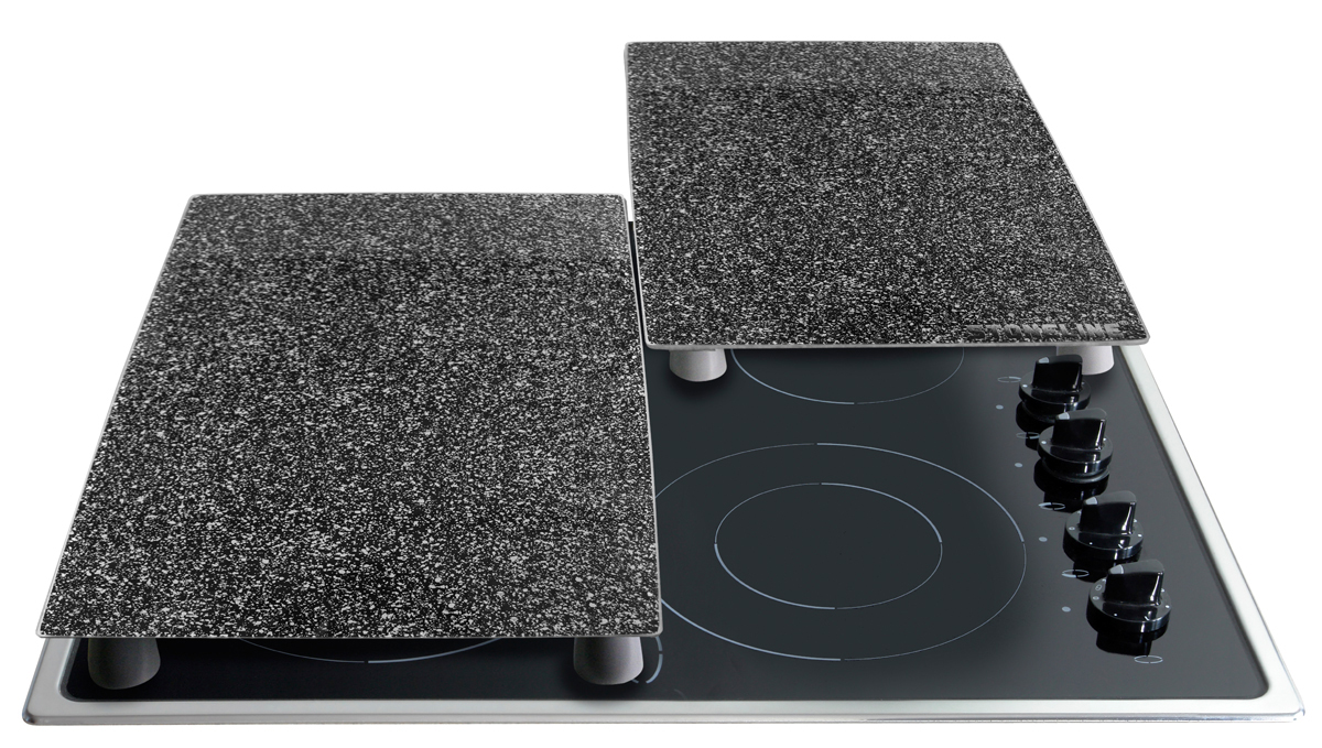 Stoneline 174 Cooktop Cover Plates Cutting Board Set Set
