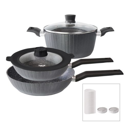 STONELINE® Smell Well Cookware set, 5-piece