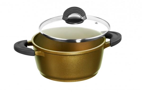 IMPERA® Roasting Pot, 24 cm, colour spicy olive