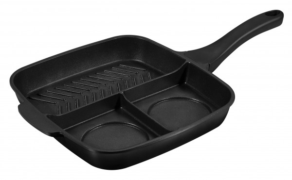 BEYOND® Multi-pan with 3 cooking zones