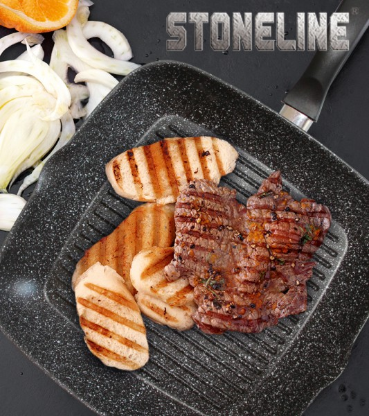 Sekundensteaks mit Orange