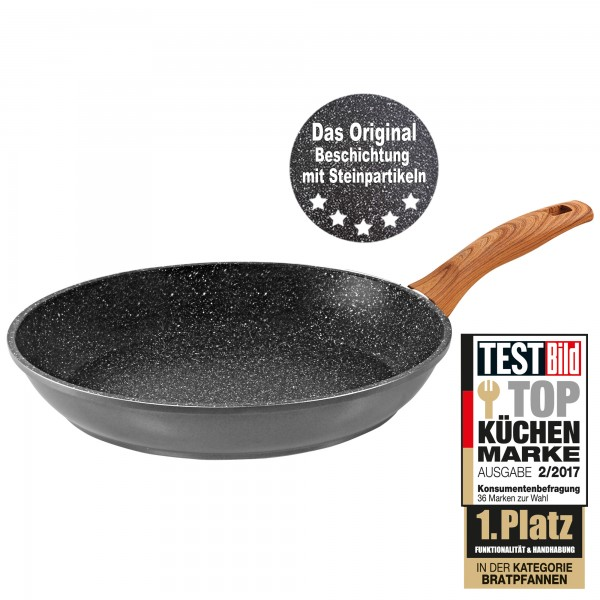 STONELINE® Back to Nature Frying pan 20 cm, Made in Germany