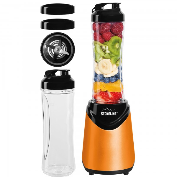 STONELINE® Smoothie-Maker-Set, 8-tlg., orange