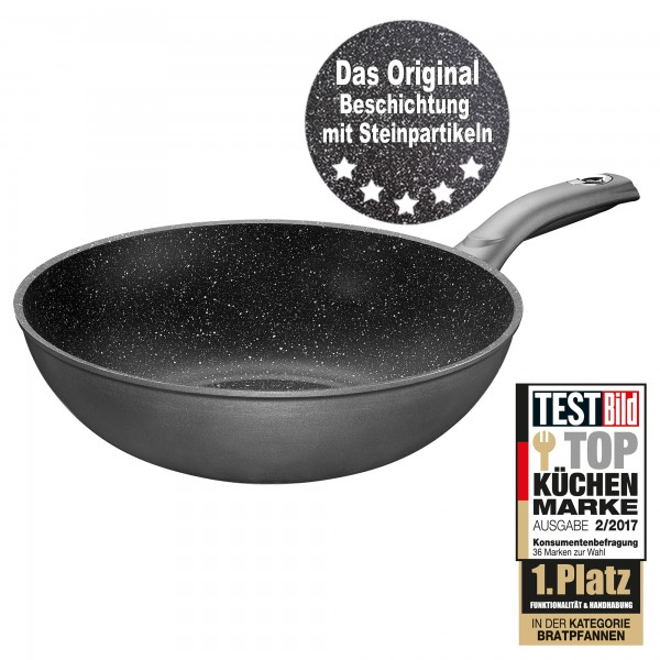 STONELINE® Made in Germany Gourmundo Wok 30 cm