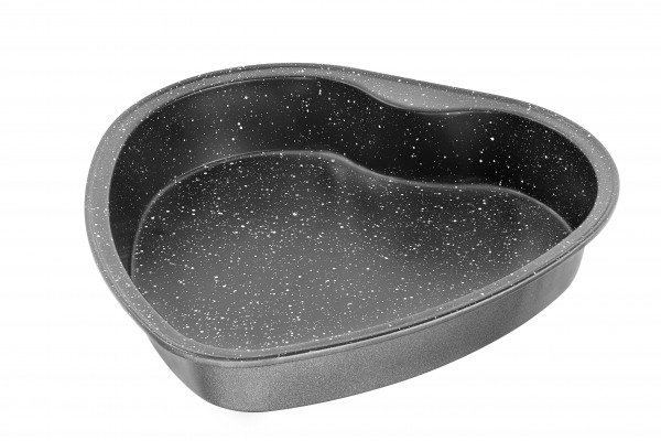 STONELINE® heart-shaped cake pan 27.5 x 26.5 cm
