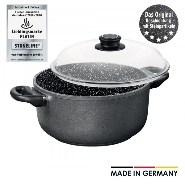 STONELINE® cooking pot, 24 cm, Made in Germany