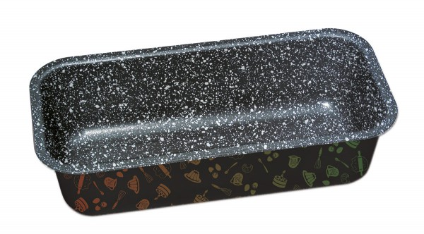STONELINE® baking pan, loaf pan 27 x 13 cm, non-stick, with prism effect