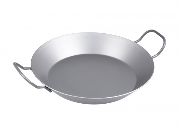 FREYERSBACHER® Iron pan 32cm, with two short handles, Made in Germany
